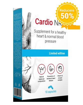 Ce este Cardio NRJ? Compoziția produsului?