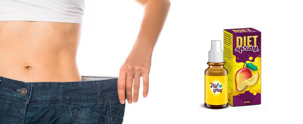 Efectele aplicării Diet Spray vor fi vizibile după o lună.