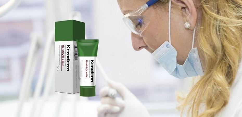 Keraderm - preț, compoziție, efect, recenzii, unde să cumpărați? În farmacie sau pe site-ul producătorului?
