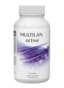 Efectele utilizării suplimentului Multilan Active.