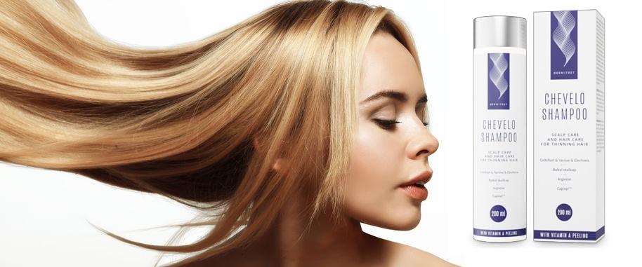 Efectele aplicării Chevelo Shampoo vor fi vizibile după o lună.